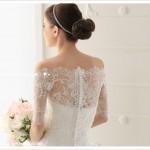Свадебные платья с открытыми плечами