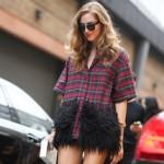 Вдохновленные уличной модой: клетчатая одежда