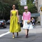 Вдохновленные уличной модой: женщины выбирают платья