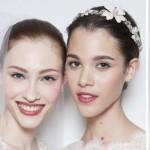 Нежный свадебный макияж с черной линией на веке