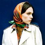 Как использовать элегантные платки в качестве аксессуара